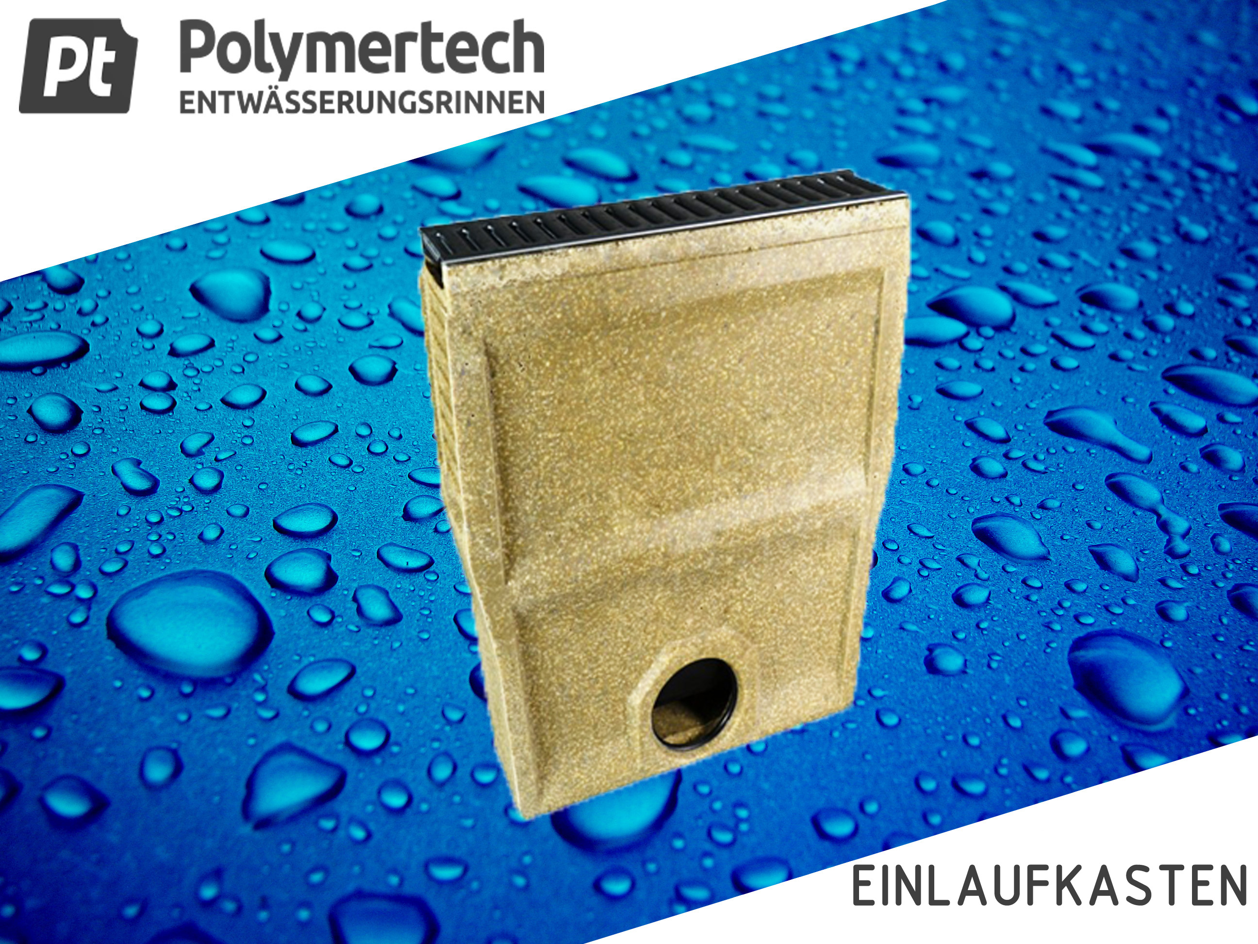Polymerbeton Revisionselement Schlitzrinne Klasse C-250