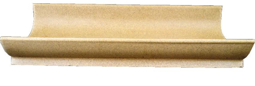 Polymerbeton Krippenschale Futterschale ST 35 17cm//35cm//100cm für Viehzucht